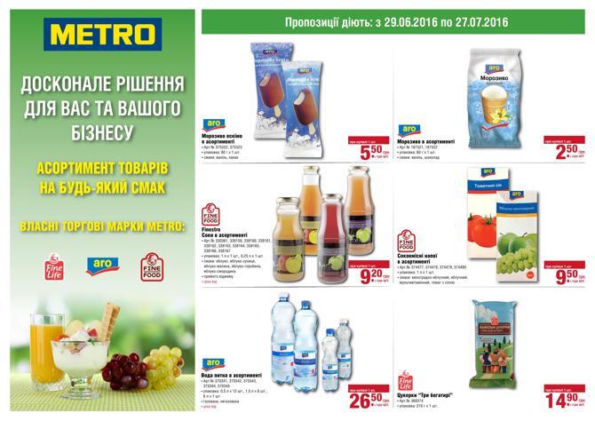 Metro - Власні торгові марки